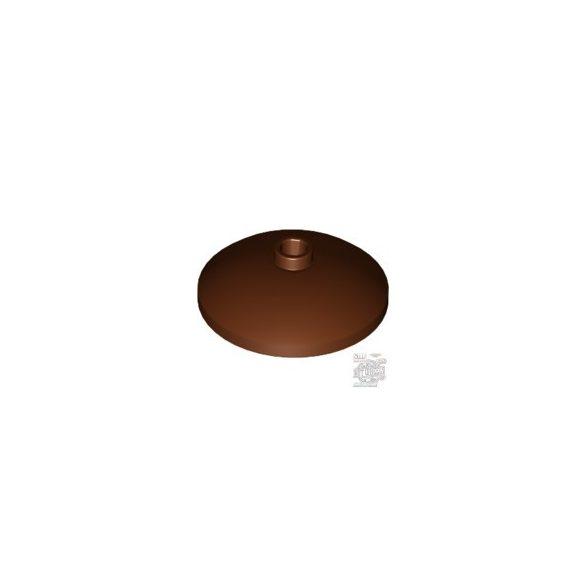 Lego PARABOLIC REFLECTOR, Reddish brown