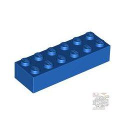 Lego Brick 2X6, Bright blue