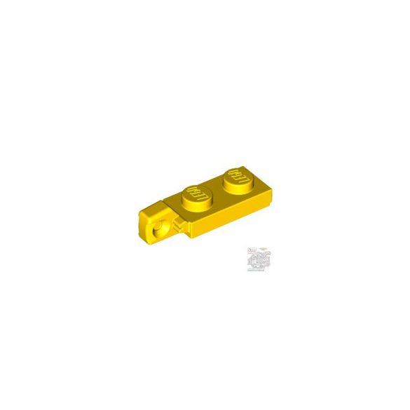 Lego PLATE 1X2 W/STUB VERTICAL/END, Bright yellow