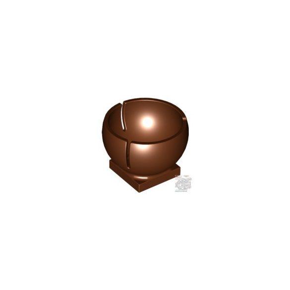 Lego SAUCER FOR BALL 3M, Reddish brown