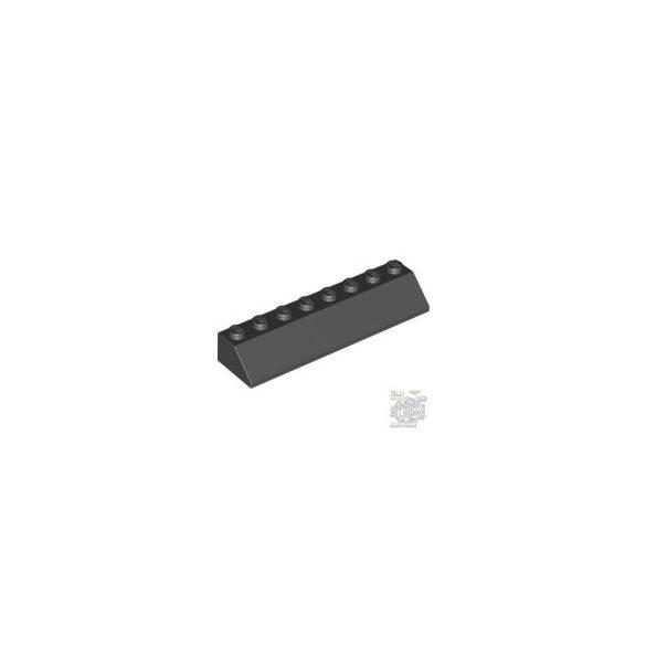 Lego Roof Tile 2X8/45°, Black