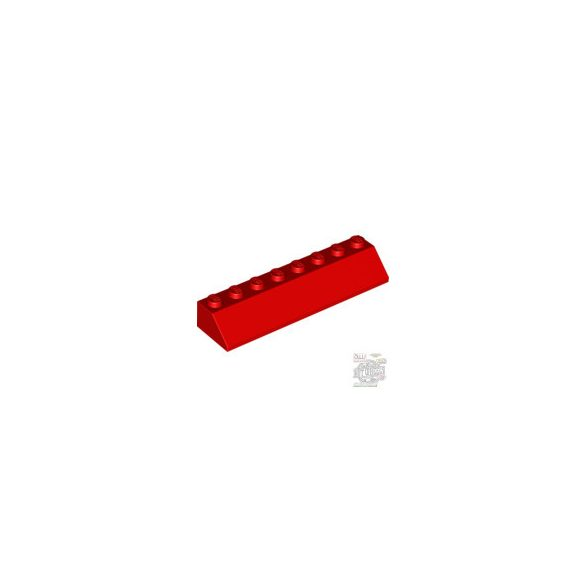 Lego ROOF TILE 2X8/45°, Bright red