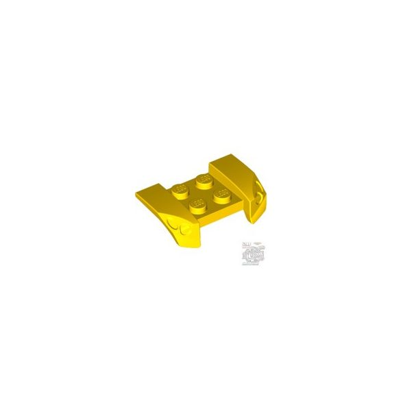 Lego RACERS GUARD 2,5 X 4, Bright yellow