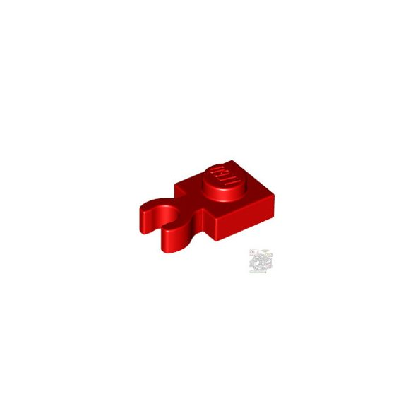 Lego PLATE 1X1 W. HOLDER, Bright red