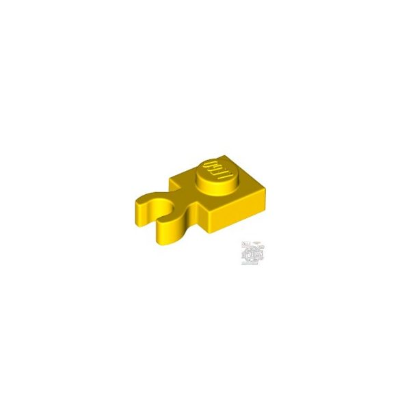 Lego PLATE 1X1 W/ HOLDER, Bright yellow