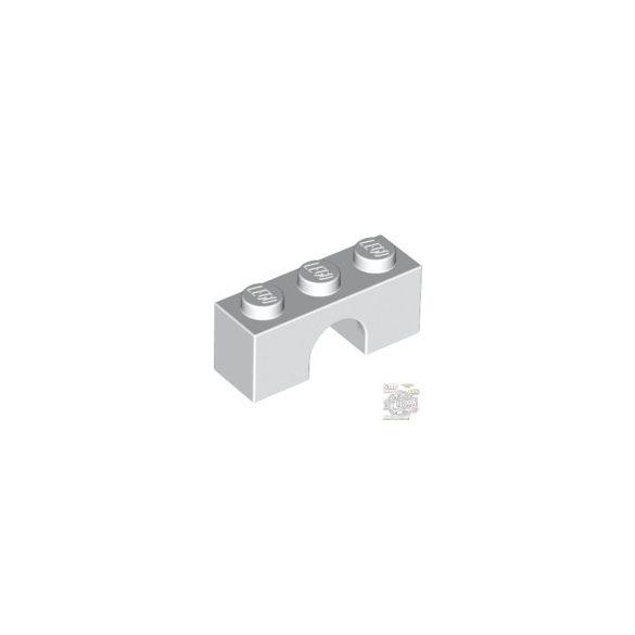 Lego BRICK W. BOW 1X3, White