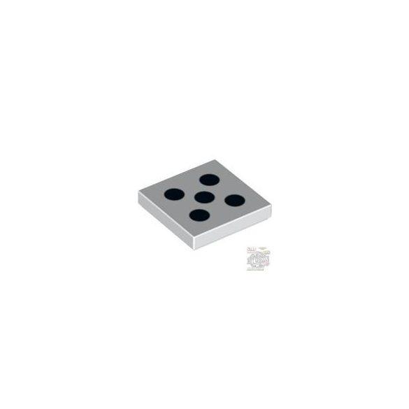 Lego FLAT TILE 2X2 NO.145, White