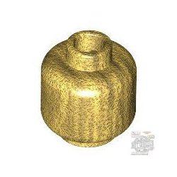 Lego MINI HEAD, Gold