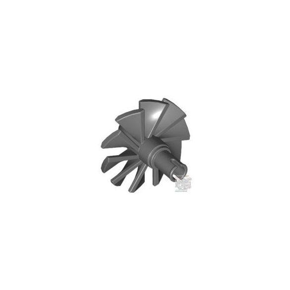 Lego Rotor Blades Ø24 W. Snap, Dark grey
