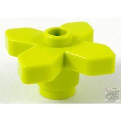 Lego Flower 2 x 2 Leaves, Medium lime
