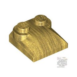 Lego PLATES W. BOWS 2X2, Gold