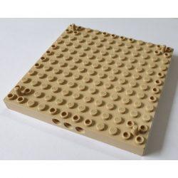 Lego BRICK 12X12 Ø 4.85, Tan