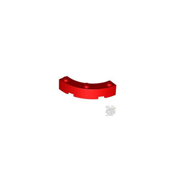Lego BOW 1/4 4X4X1, Bright red
