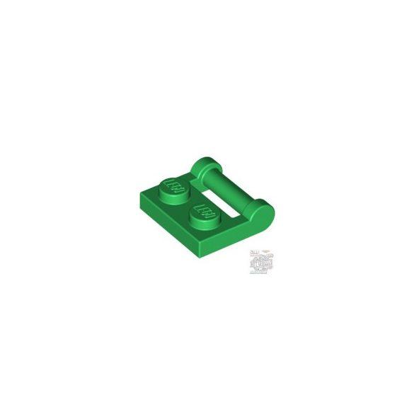 Lego PLATE 1X2 W. STICK 3.18, Green