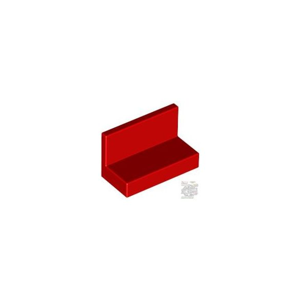 Lego WALL ELEMENT 1X2X1, Bright red