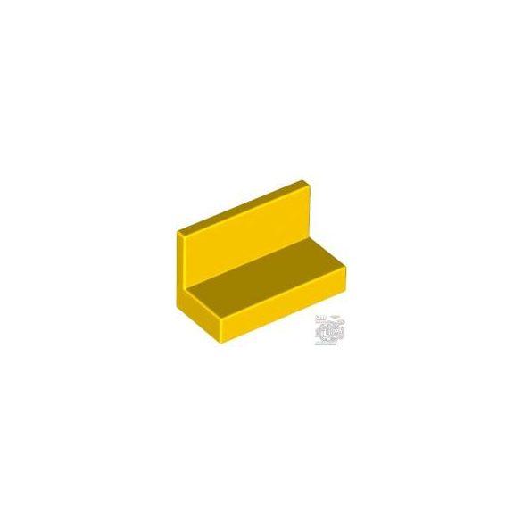 Lego WALL ELEMENT 1X2X1, Bright yellow
