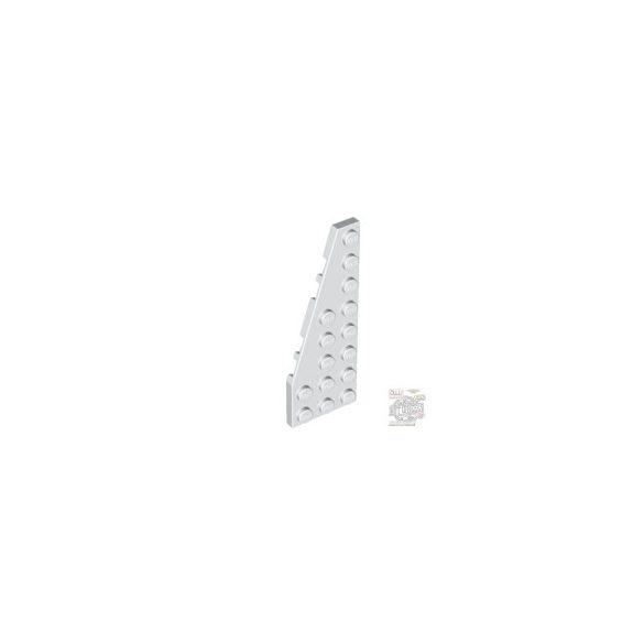 Lego LEFT PLATE 3X8 W/ANGLE, White