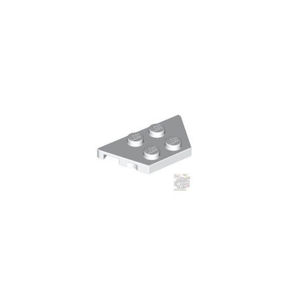 Lego PLATE 2X4X18°, White