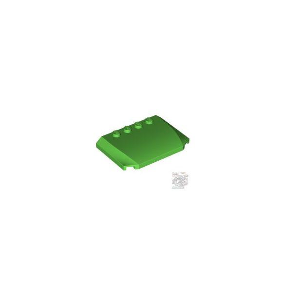 Lego PLATE 4X6X2/3, Bright green