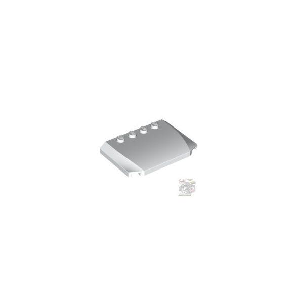 Lego PLATE 4X6X2/3, White