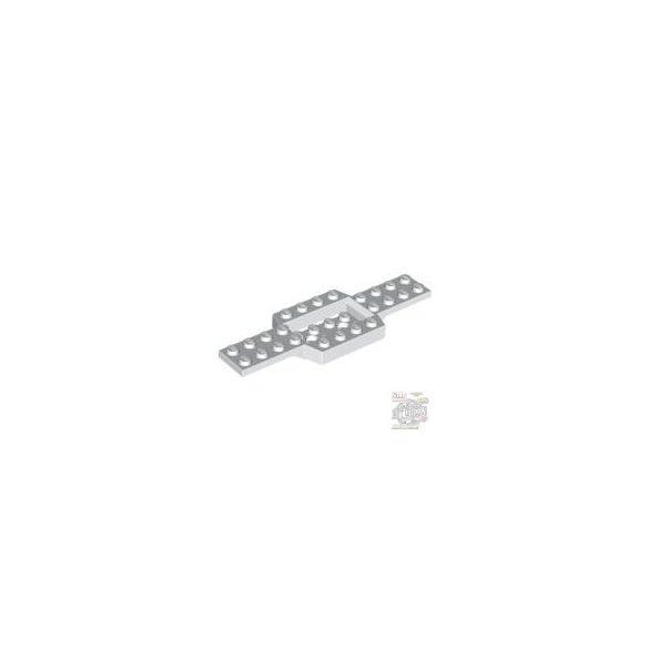 Lego PLATE 4x12 W. BOTTOM 2X4X2/3, White