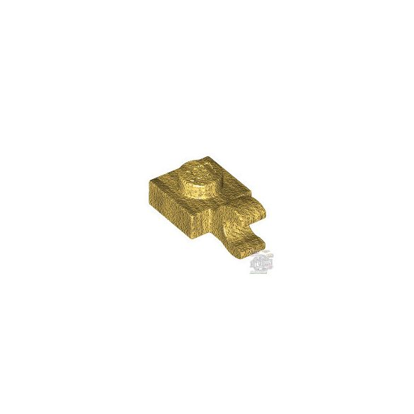 Lego PLATE 1X1 W/HOLDER, Gold