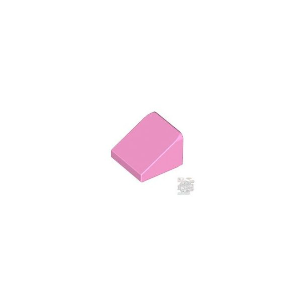 Lego ROOF TILE 1X1X2/3, ABS, Rose