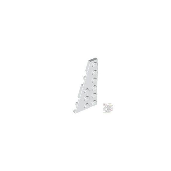 Lego LEFT PLATE 3X6 W ANGLE, White