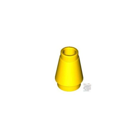 Lego NOSE CONE SMALL 1X1, Bright yellow