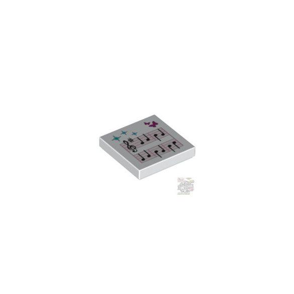 Lego FLAT TILE 2X2 NO 138, White