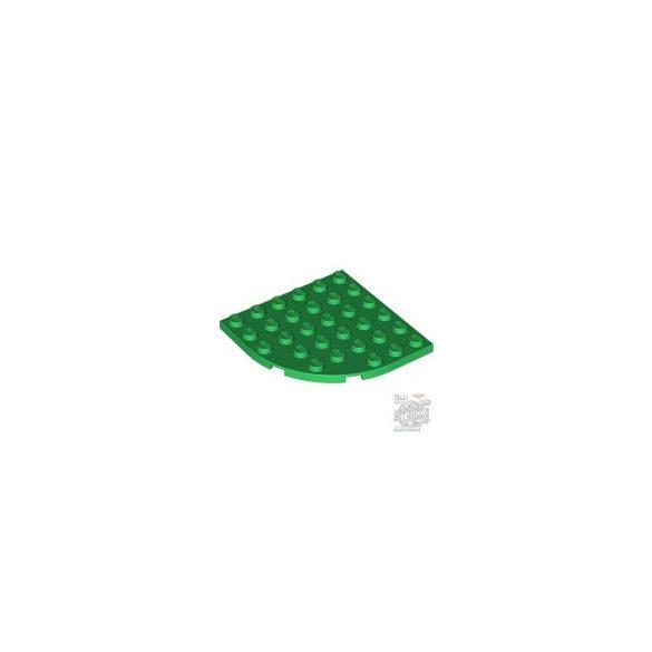 Lego PLATE 6X6 W. BOW, Green