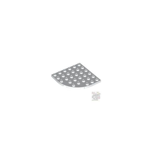 Lego PLATE 6X6 W. BOW, White