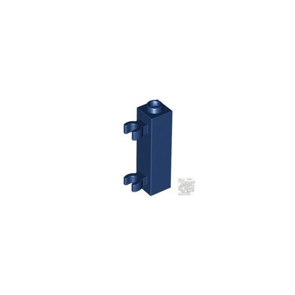 Lego BRICK 1X1X3 W. 2 GRIP, Earth blue