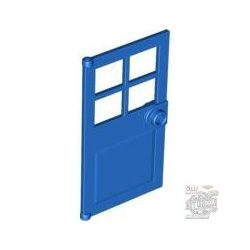 Lego D. W. PANES F. FRAME 1X4X6, Bright blue