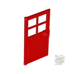 Lego D. W. PANES F. FRAME 1X4X6, Bright red