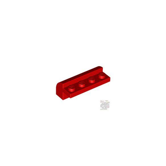 Lego BRICK W. BOW 4X1X1 1/3, Bright red