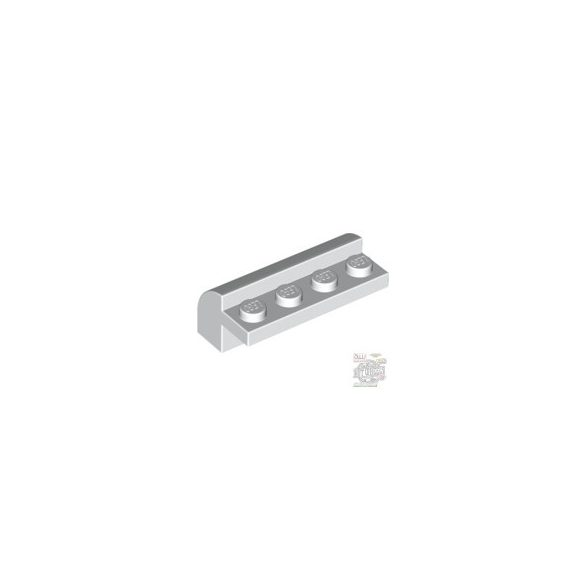 Lego BRICK W. BOW 4X1X1 1/3, White