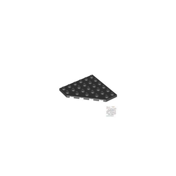 Lego Corner Plate 6X6X45°, Black