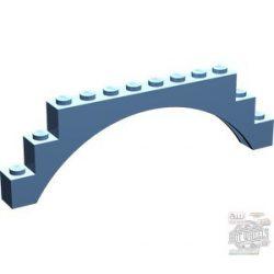 Lego Arch 1X12X3, Medium blue