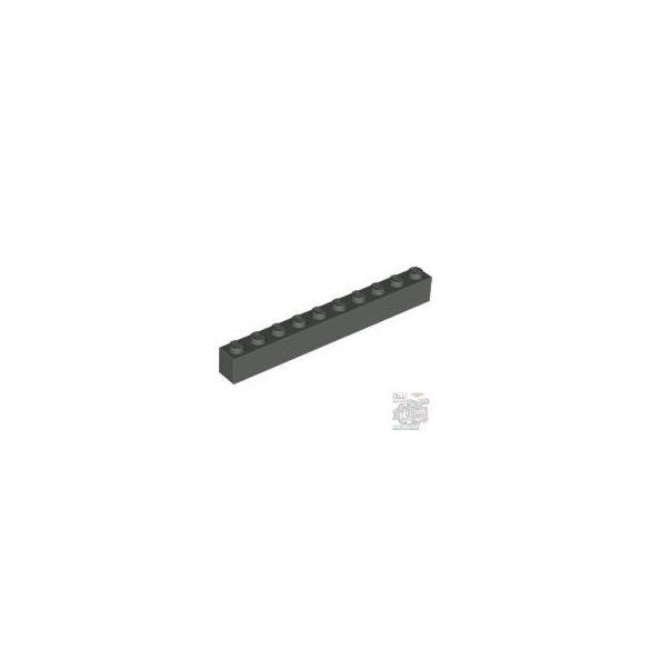 Lego Brick 1X10, Dark grey
