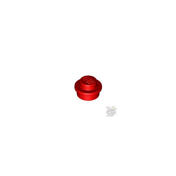 Lego ROUND PLATE 1X1, Bright red