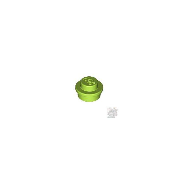 Lego Round Plate 1X1, Bright yellowish green