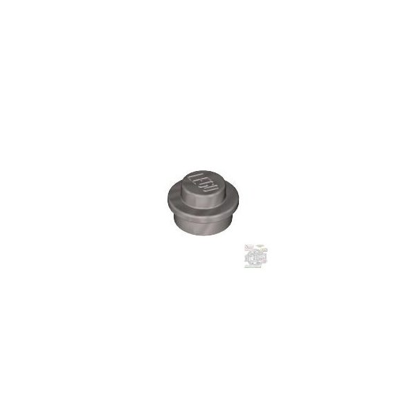 Lego ROUND PLATE 1X1, Silver