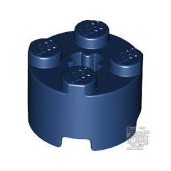 Lego BRICK Ø16 W. CROSS, Earth blue