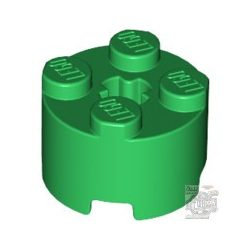 Lego BRICK Ø16 W. CROSS, Green