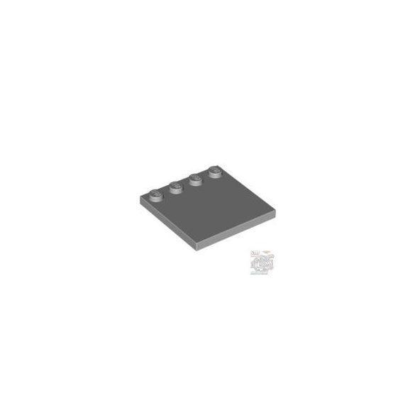 Lego Plate 4X4 W. 4 Knobs, Light grey