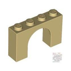 Lego Arch 1X4X2, Tan
