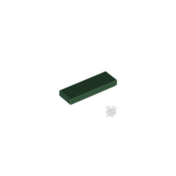 Lego FLAT TILE 1X3, Earth green