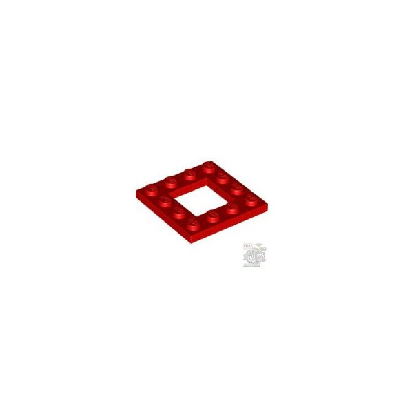 Lego FRAME PLATE 4X4, Bright red