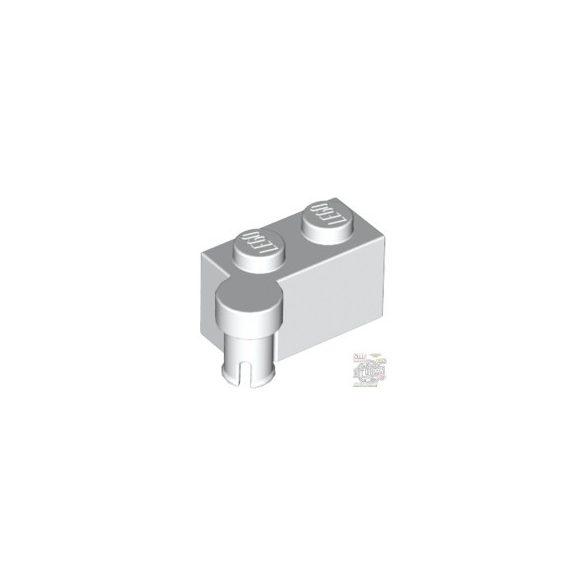 Lego HINGE 1X2 UPPER PART, White